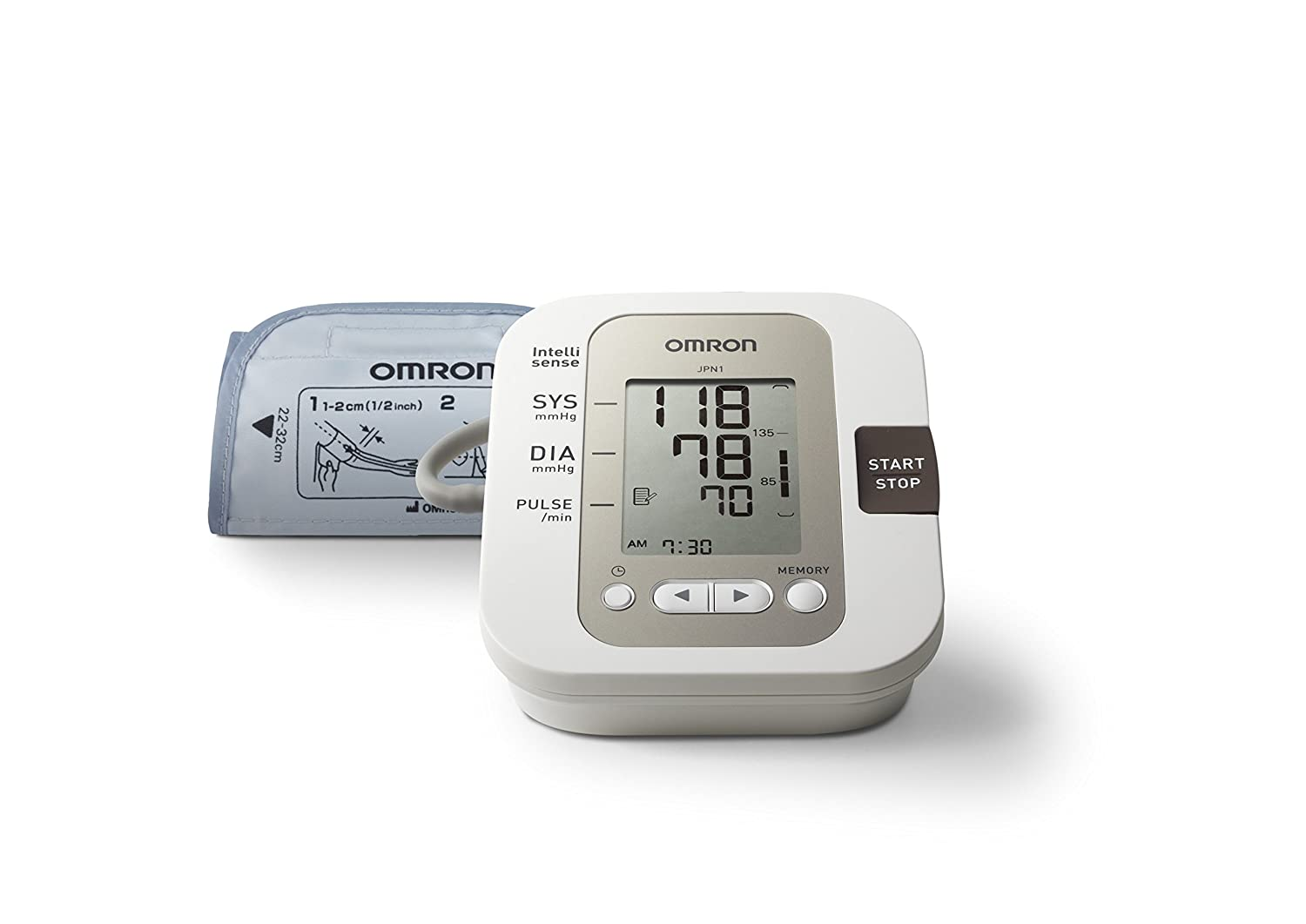 Omron JPN1 Automatic Blood Pressure Monitor
