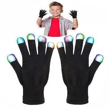 Juguetes WIKI para niños de 4-5 años, dedo intermitente de colores para niños