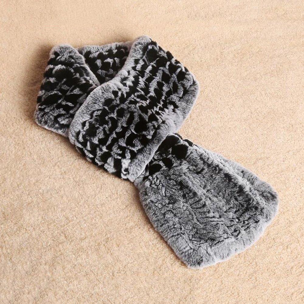 MEIDUO Bufandas y Chales Pañuelo de color sólido Cálido Hembra Otoño e Invierno Pañuelos de doble cara Negro gris Rojo gris Gris ( Color : Black gray )