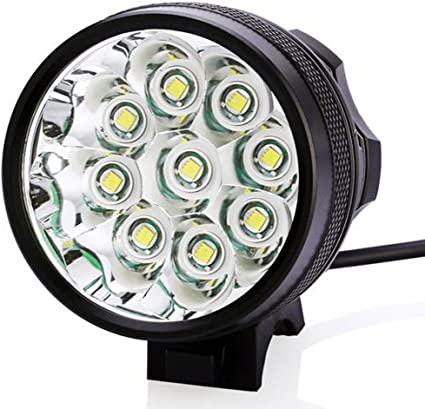 20000LM T6 LED Front Bike Light Bicycle Headlight Battery Taillight Rechargeable