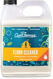 product image for Aunt Fannie's Floor Cleaner Vinegar Wash - Multi-Surface Cleaner, 32 oz. (Single Bottle, Mandarin)