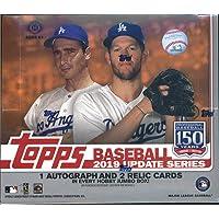 2019 Topps Update Baseball Jumbo Box (10 Packs/46 Cards; 2 Silver Packs, 3 Hits)