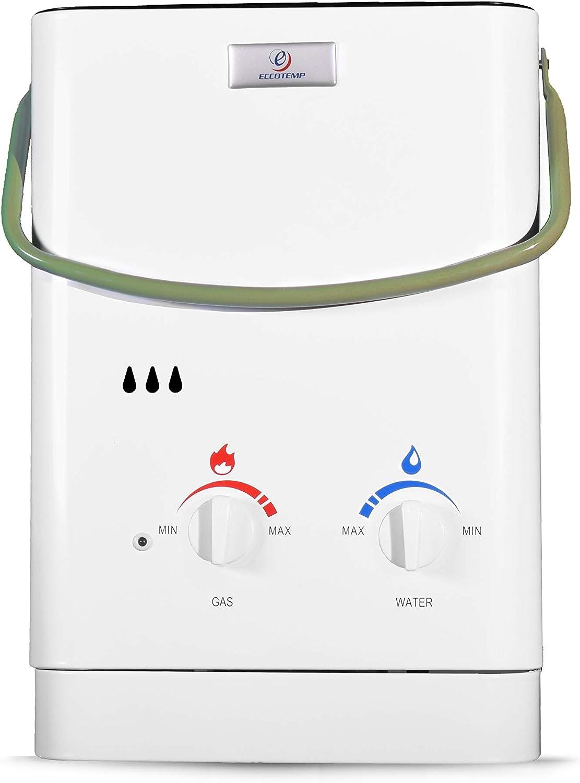 Eccotemp eccl530 calentador sin depósito portátil, Blanco ...