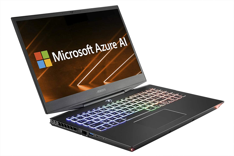 """AORUS 15-WA-F74ADW 15"""" Thin Bezel LG 144Hz FHD IPS LCD, Intel i7-9750H, NVIDIA GeForce RTX 2060, Samsung 16GB RAM, Intel M.2 PCIe NVMe 512GB SSD, Win10, RGB KB, Ultra Slim Metal Chassis Gaming Laptop"""