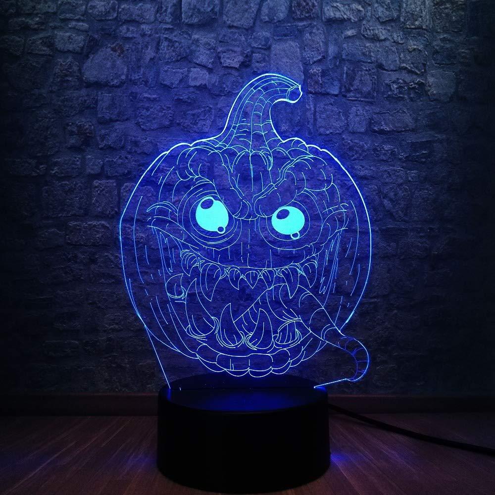 Orangeww 3D Led Illusion Lamp Night Light / 7 Color Changing ...