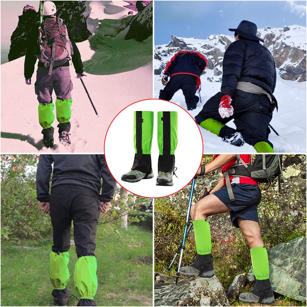 Orangehome Waterproof Outdoor Snow Leg Gaiters