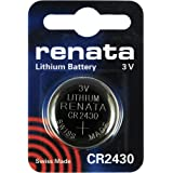 Renata CR2430 - Set di 2 pile al litio da 3V