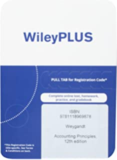Amazon accounting principles 12th edition binder ready version accounting principles 12th edition wileyplus access code fandeluxe Image collections