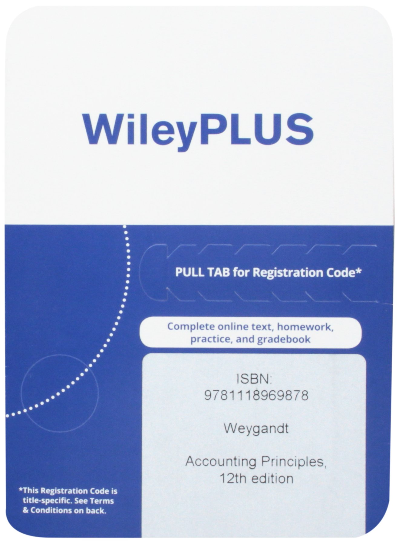 Read Online Accounting Principles, 12th Edition WileyPlus Access Code pdf epub