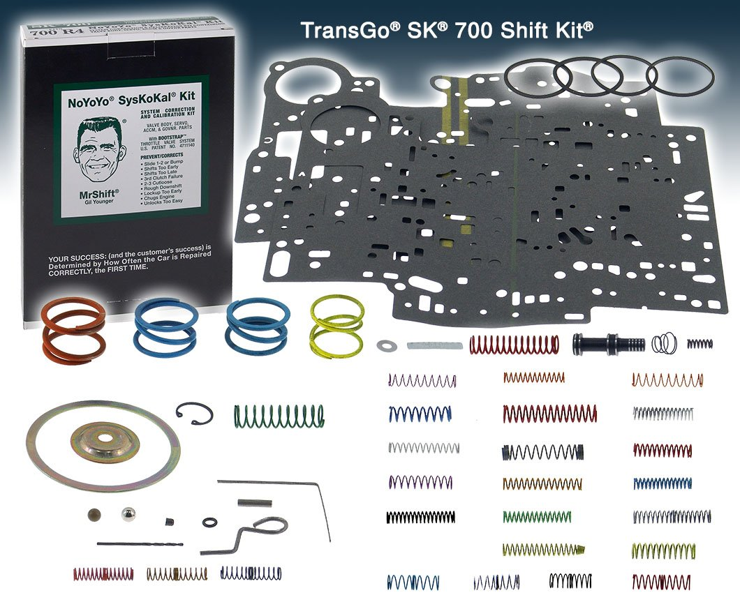 Transgo SK 700 Shift Kit TH700-R4 82-93