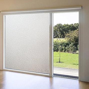 Mexital Fenster Milchgasfolie Selbstklebende Sichtschutz Folie