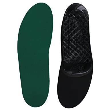 Spenco RX 3/4 Orthotic Arch Support Einlegesohlen, Grün (Green), 7 UK
