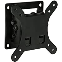 Mount-It! Tilt TV Wall Mount Bracket | Low-Profile TV Wall Mounting Bracket for Mid-sized Flat Screen Displays | Quick…