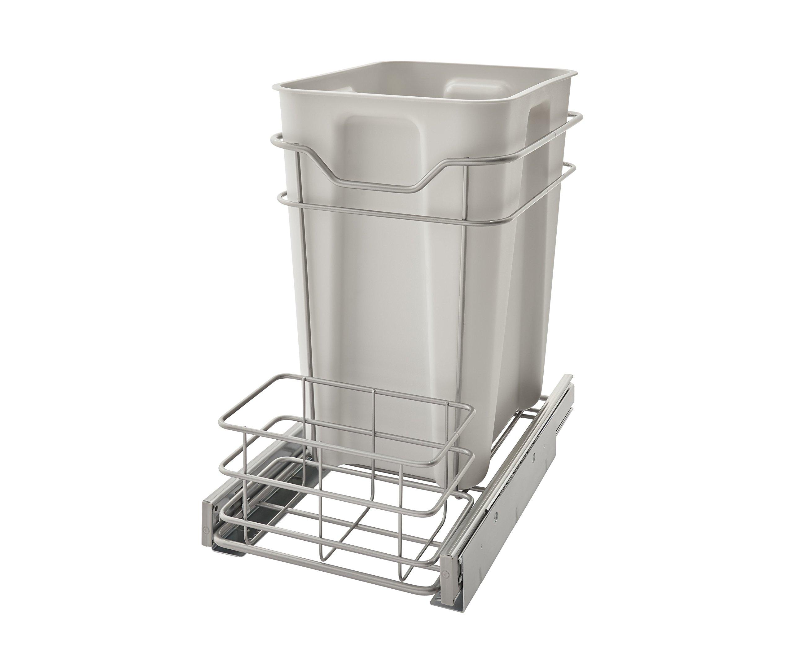 ClosetMaid 32102 Premium 24 Quart Cabinet Pull Out Trash Bin