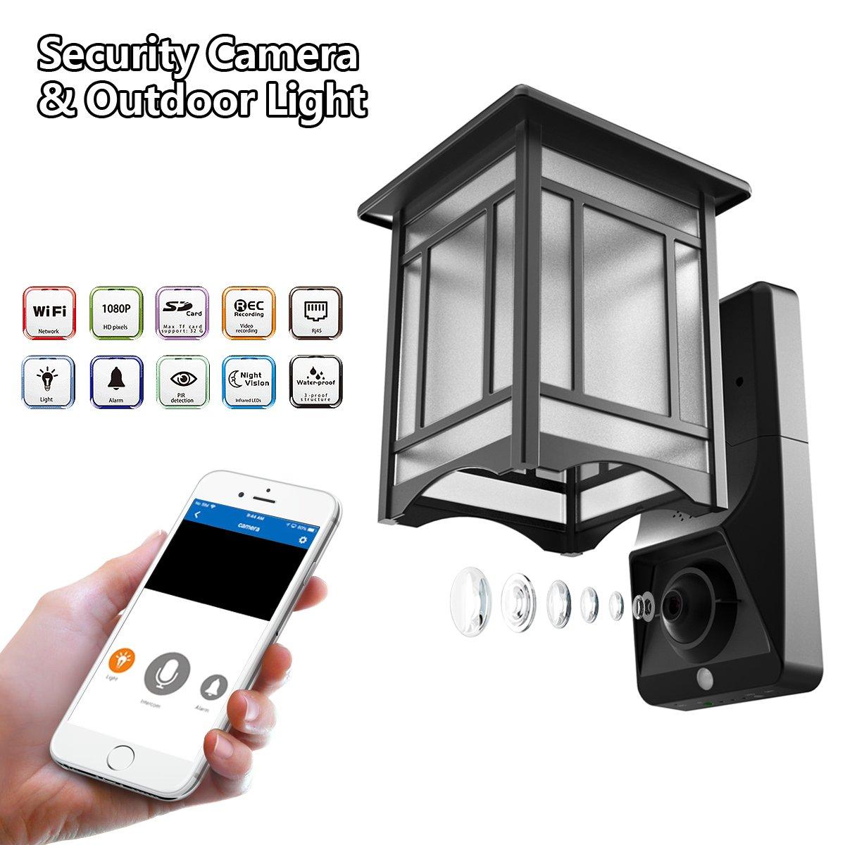 Top 4 Front Door Light With Surveillance Camera