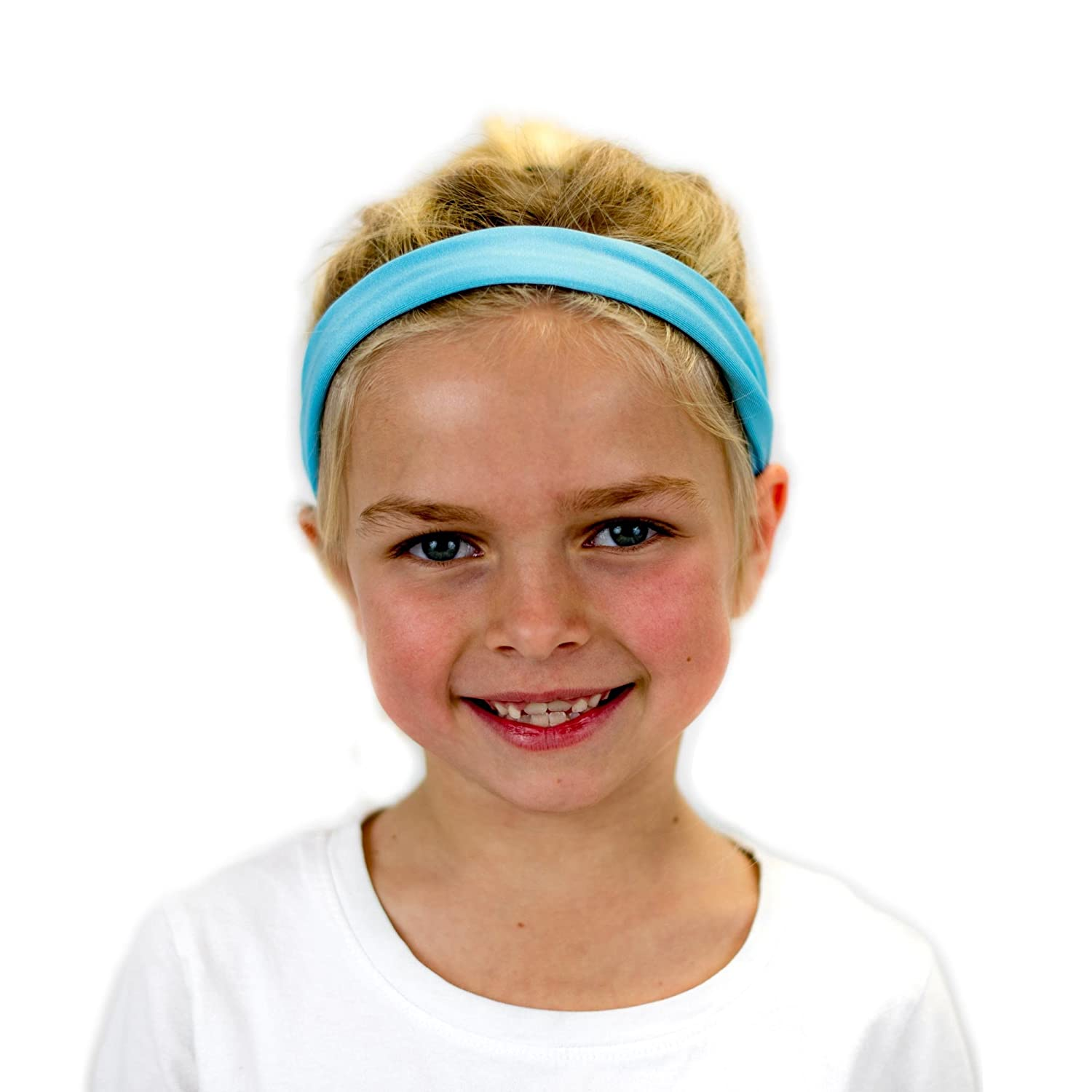 Everfan Kids Headband Athletic Stretch Sweatband for Running Yoga and Crossfit