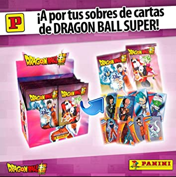 Panini 003756BOX50E Caja Trading Cards Dragon Ball Super, 50 Sobres: Amazon.es: Juguetes y juegos