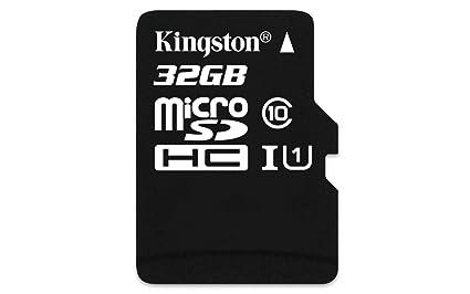 Kingston SDCIT/32GB - Tarjeta de Memoria microSDHC de 32 GB (UHS-I ...