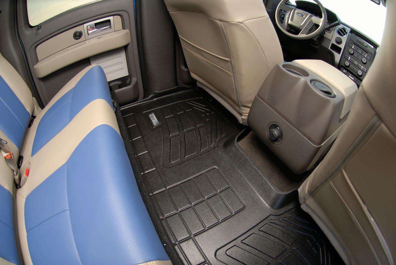 Westin Wade 72-134025 Tan Sure-Fit 2nd Row Molded Floor Mat Set of 1