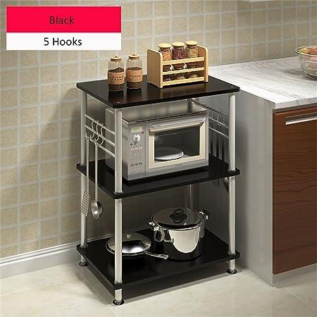Muebles de cocina Creativo Horno de microondas Estante Multi ...