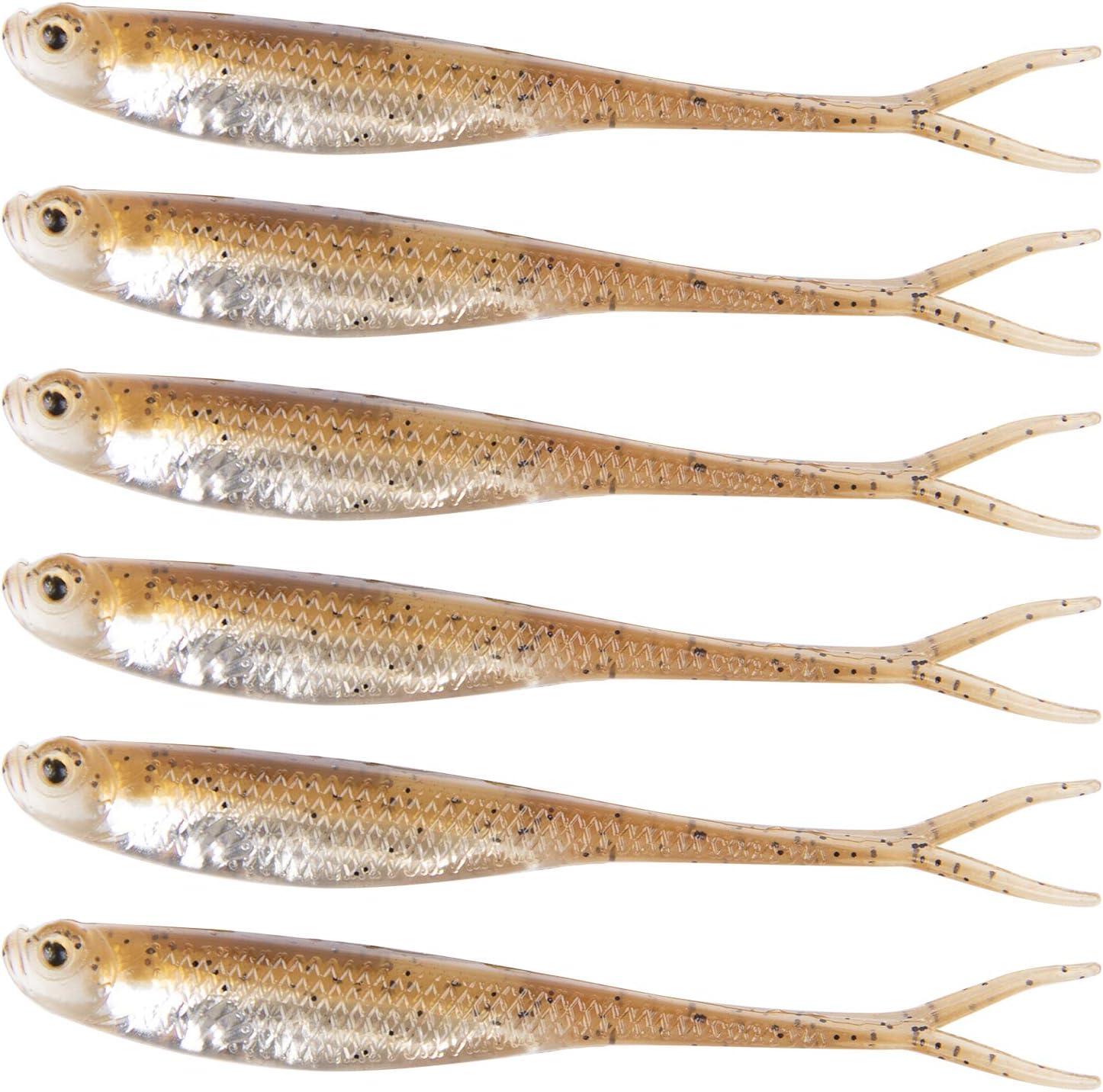 "Select Nimfa 1,6/"" Rubber Fish Rubber Bait softbait creature bait Fishing Bait"