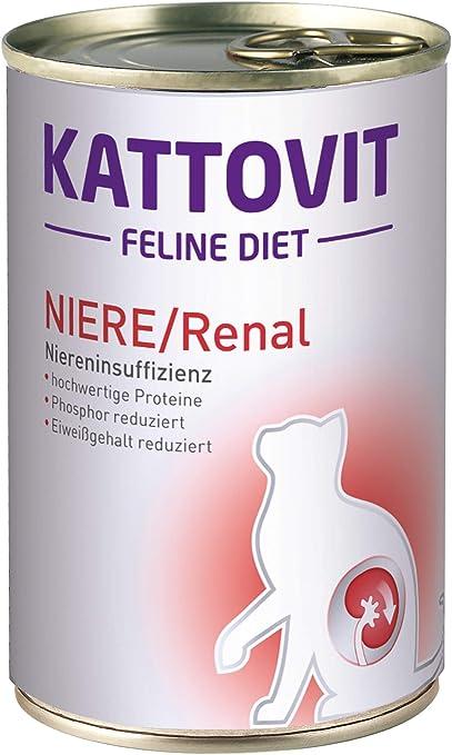 Kattovit Gato Forro Riñón/renal, 6 Pack (6 x 400 g)