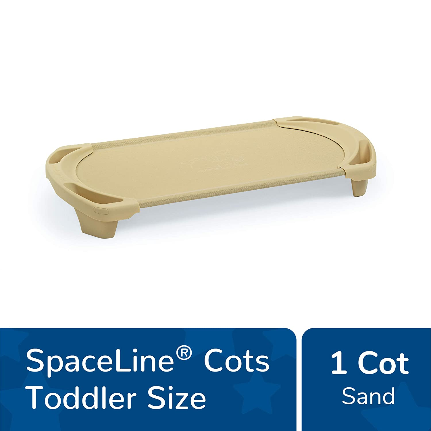 22 Length 9.5 Width 42.5 Height Blue Pack of 4 Toddler Angeles AFB5736AOB Space Line Cot