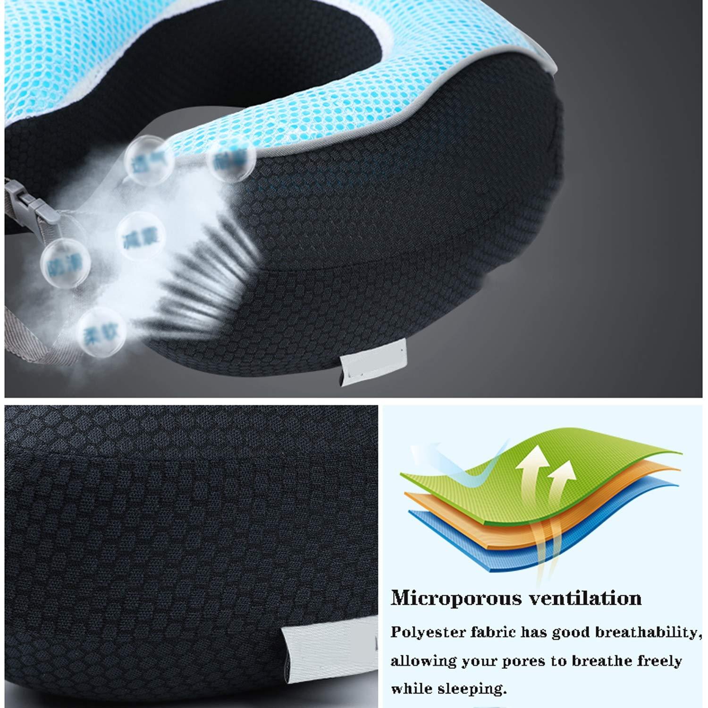 Amazon.com: Almohada de viaje ZQQ, protección contra la ...