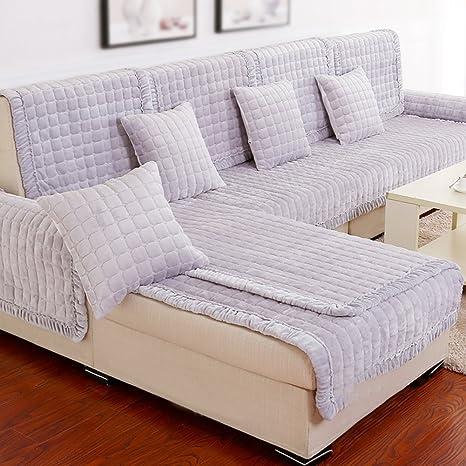 D&LE Cubre sofá Europeo,Tela Moderno Simple Protector para ...