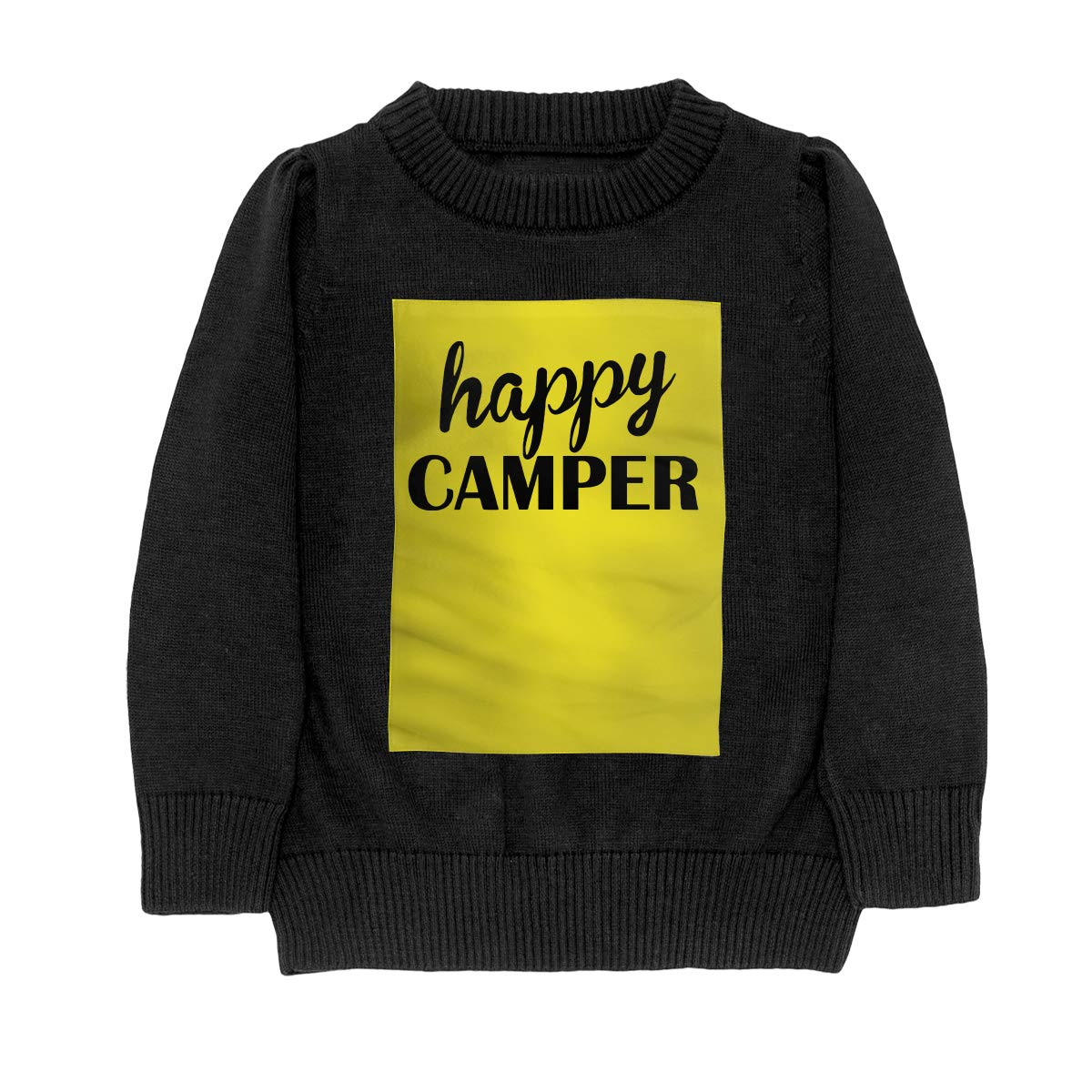 Happy Camper Style Teenager Boys Girls Unisex Sweater Keep Warm