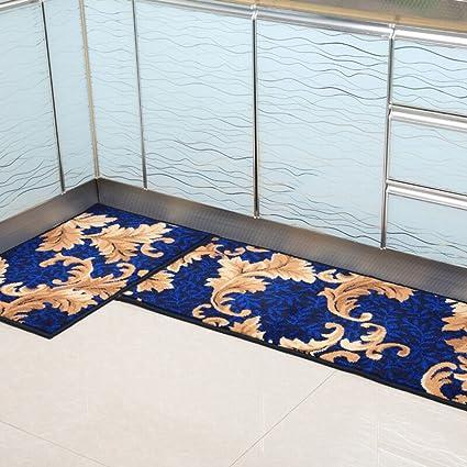 Amazon.com: Area Rugs Kitchen Floor Mats Absorbent Non-Slip Mats ...
