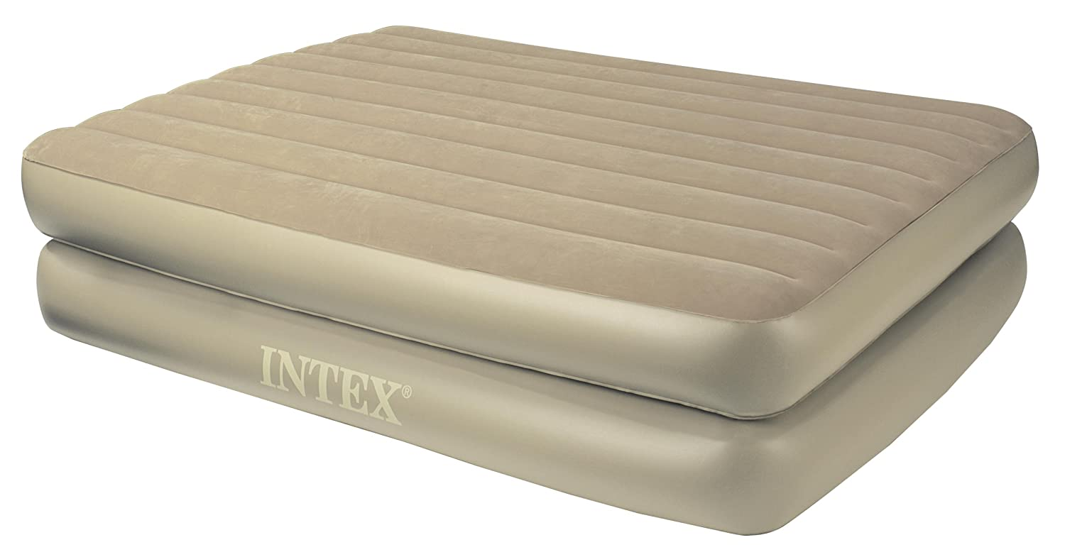 Amazon.com: Intex Comfort Bed – Rising Comfort Reina Airbed ...