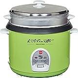 Cello Cook-N-Serve 400 A 2.8-Litre 1000-Watt Rice Cooker (Green)