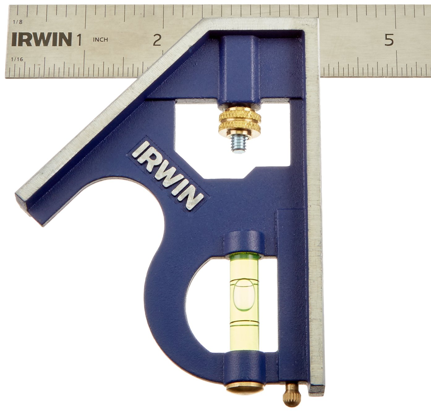 IRWIN Tools Combination Square, Metal-Body, 16-Inch (1794471) by Irwin Tools (Image #3)