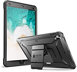 SupCase [Heavy Duty Unicorn Beetle Pro Series Full-Body Rugged Protective Case for IPad Pro 12.9 2017,Black with Built-in Screen Protector for IPad Pro 12.9 Inch 2017 (Black)