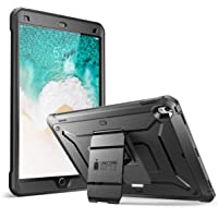 SUPCASE [Unicorn Beetle PRO] Case for iPad Air 3 (2019) and iPad Pro 10.5'' (2017), Heavy Duty with Built-in Screen Protector Full-Body Rugged Protective Case (Black)