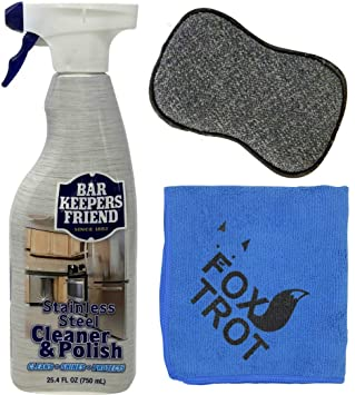 Amazon.com: Bar Keepers Friend - Kit de limpieza de acero ...