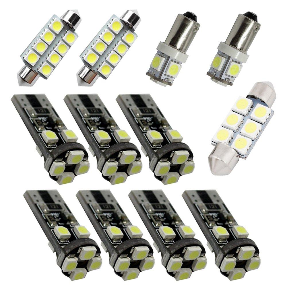 For Range Rover Evoque Suv Led Interior Lights Land Rover Led Interior Car Lights Bulbs Kit White 8pcss 2012-2018 8X-SPEED