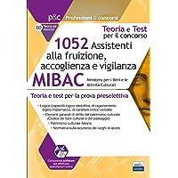 71ciyLVfobL._AC_UL200_SR200,200_ 1052 Assistenti alla fruizione, accoglienza e vigilanza MIBAC: Teoria e test per la preselezione