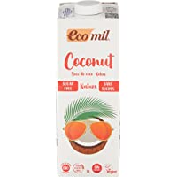 Ecomil Coconut Milk Nature, Sugar Free, 1L