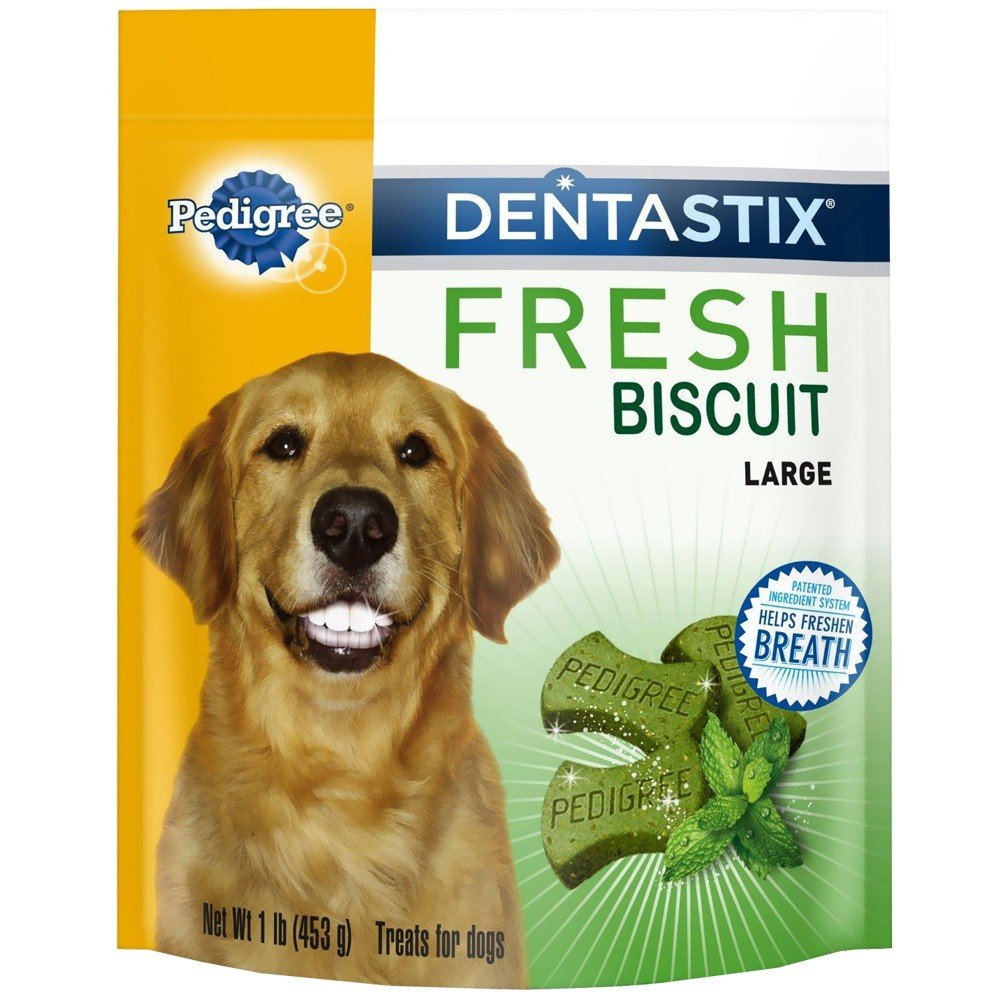 Pedigree Dentastix Fresh Biscuit Large Dog Treats 3 lb