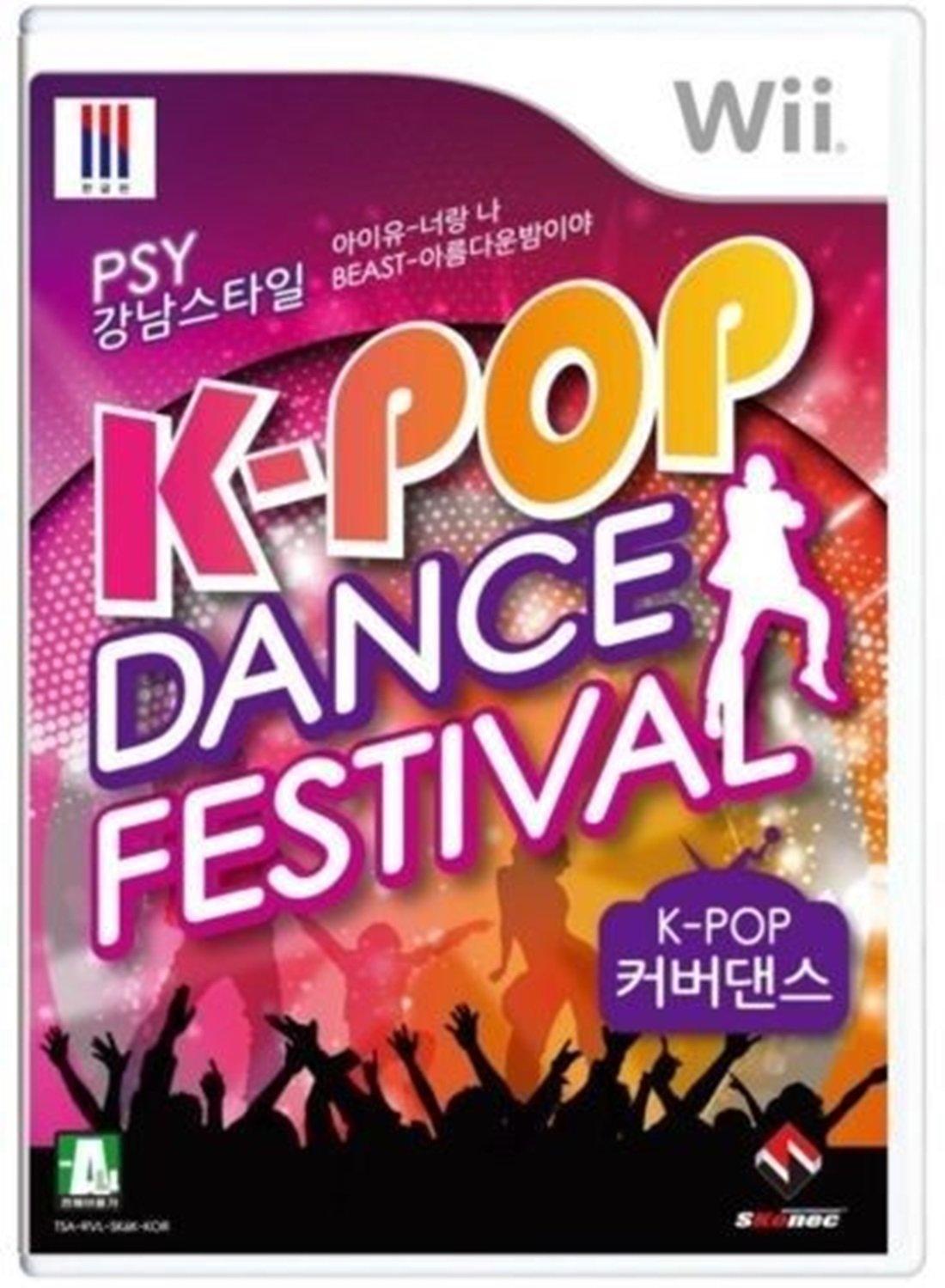 K-pop Dance Festival : Cover Dance Nintendo Wii Korean Exclusive