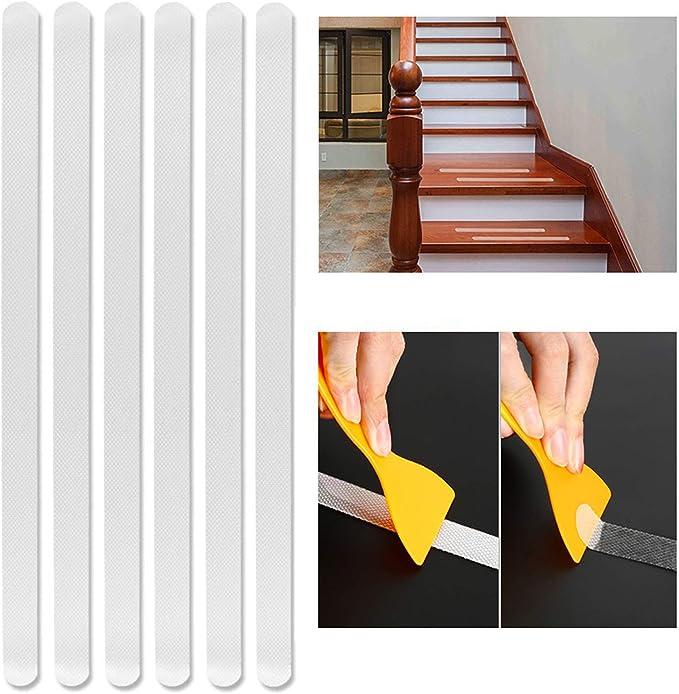 24x Anti-slip Bathtub Decals Flooring Stickers Bath Tubs Shower Non Slip Strips