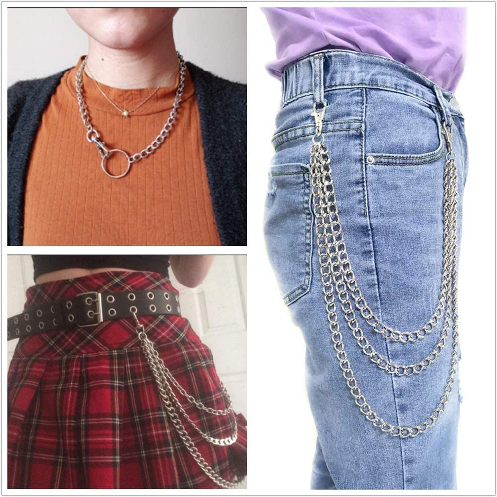 Amazon.com: XY Fancy - Cadena de pantalón para mujer ...