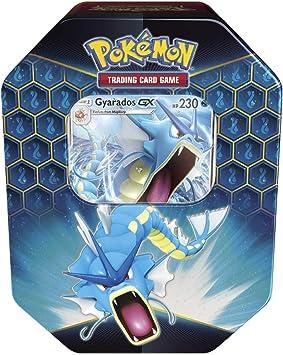 Pokemon Hidden Fates Gyarados Tin 4 Booster Packs Promo Card TCG