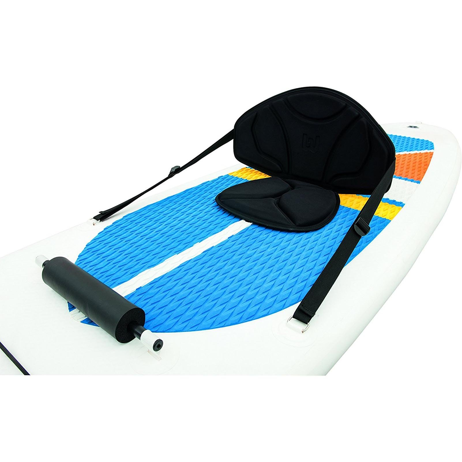 HydroForce White Cap Inflatable Stand Up Paddleboard SUP and Kayak 10' by Bestway (Image #4)