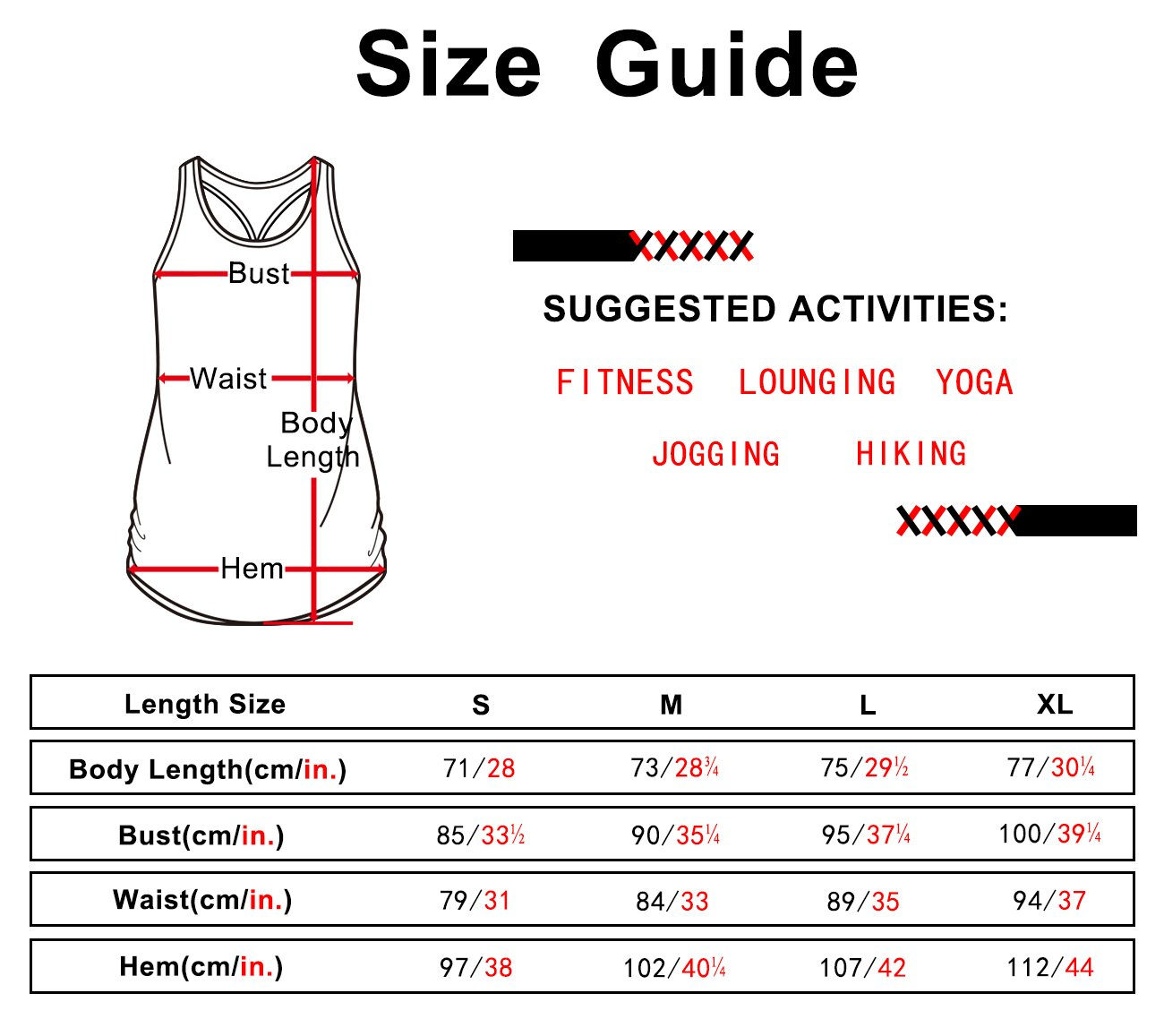 icyZone Workout Yoga Fitness Sports Racerback Tank Tops for Women (L, Florida Keys)
