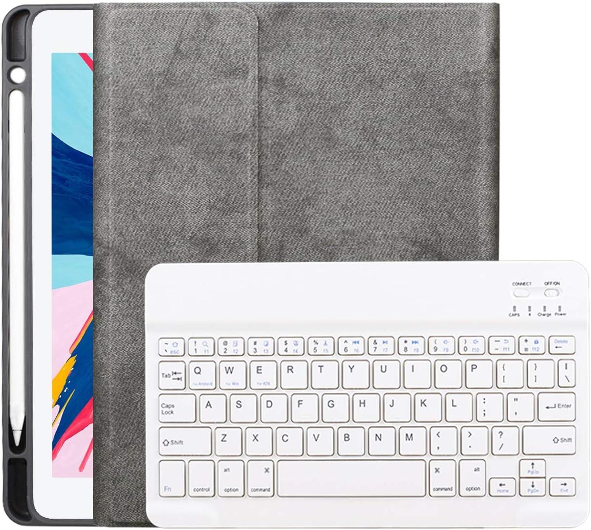 Funda con teclado para iPad 2018/2017 iPad Air 1/2 Cover 9.7