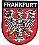 Yantec Wappen Patch Frankfurt Aufnäher
