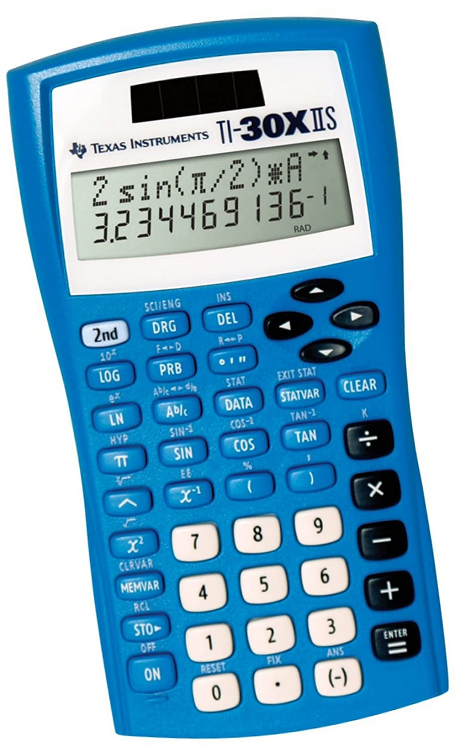 Amazon.com : Texas Instruments TI30XIIS Blue Scientific Calculator ...